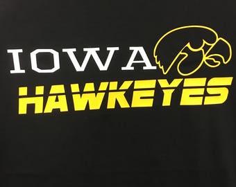 Iowa Hawkeye Fan Wear  Regular Print-Multiple Shirt Options