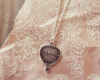 Longline Hot Air Balloon Necklace