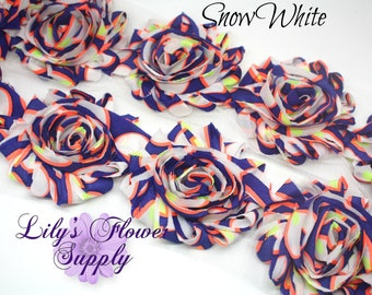 Shabby Rose Trim - Shabby Rose trim - Shabby Flower - Chiffon Flower - Snow White - Shabby Chic - Rose Trim - Wholesale