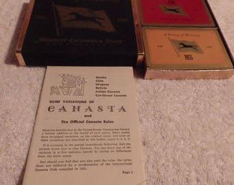 Canasta playing cards Merritt Chapman and Scott. Like new