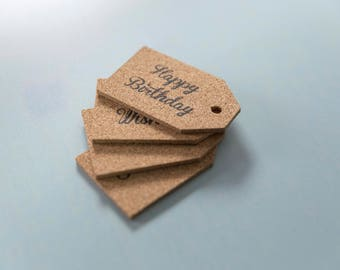 Little cork labels - Gift labels