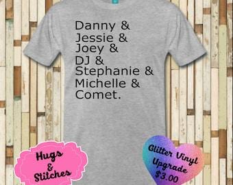 Full House Names Shirt