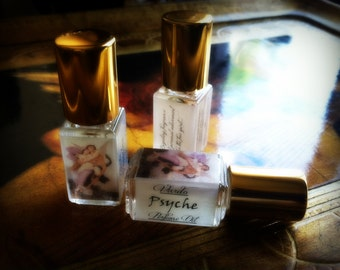 Psyche Perfume Oil - Narcissus Jasmine Blood Orange Peach Honey Musk