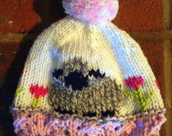 Sheep in the Meadow Hat