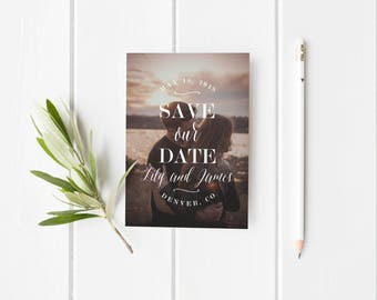 Save the Date Template,Save the Date Printable, Photo Save the Date Printable,Picture Save the Date Template, Photo Save the Date Printable