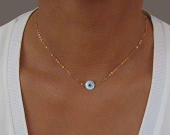 Evil eye necklace Etsy