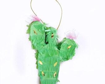Cactus Piñata, Cactus Decor,Petite Piñata,Cinco De Mayo,Cactus Party Decor,Cactus Decorations,Fiesta Decor,Fiestaware,Fiesta Party,Cactus