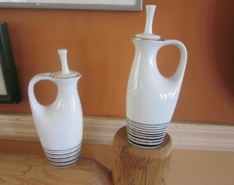 1950's holt howard oil and vinegar...mid century modern, awesome