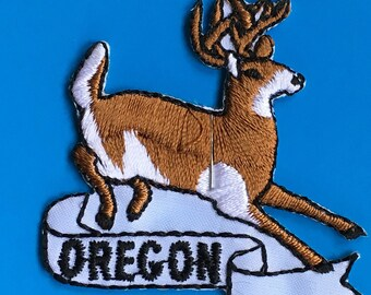 LAST ONE! Oregon Vintage Souvenir Travel Patch from Andre Patches