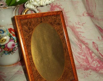 A small antique French picture frame.  Vintage 1930's.