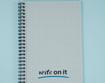 Bullet Journal, BUJO, Dot Grid Notebook, A5 Bullet Journal Notebook, Dot Grid Journal, Dot Grid Paper, Wire Bound BUJO, Bujo Planner