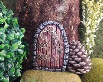 Darling Dragon Fairy Door, Dragon, Pegan Decor, Celtic