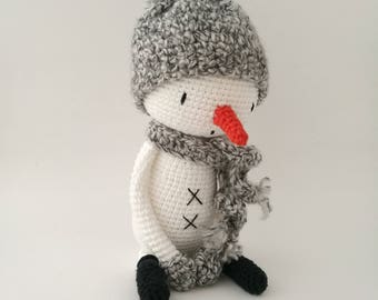 LuiSnowman, Snowman, Snowman Amigurumi, Crochet Snowman