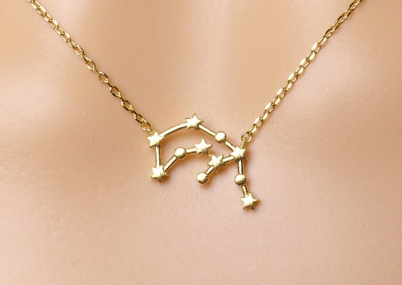 zodiac talon necklaces pendant aquarius necklace shop