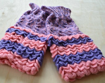 Unique Boot Cuffs, Knit Legwarmers, Knitwear, Wool Knee Warmers, Cabled, Textured, Strechy, Chunky Warmers, Boot Covers, Stylish Toppers