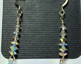 Crystal bling earrings
