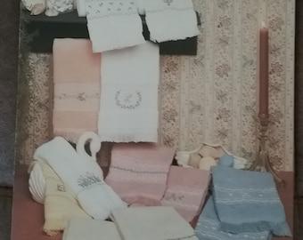 More Powder Room Pastels Cross Stitch Leaflet