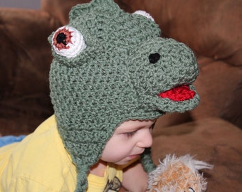 Drake The Dinosaur - PDF Crochet Pattern - INSTANT DOWNLOAD
