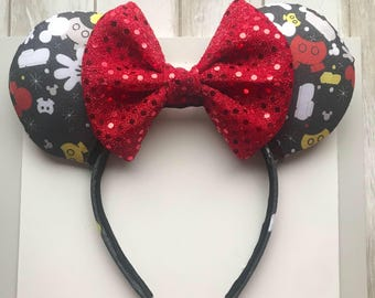 I am Mickey Mouse DB Inspired ears. Mickey Ears. DB Mickey ears . Minnie Ears
