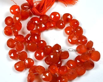 """Wholesale red coral  beads - 8 1/2"""" strand, 7x7x4mm bamboo coral beads, grade red coral beads, bamboo coral beads,shaped beads"""