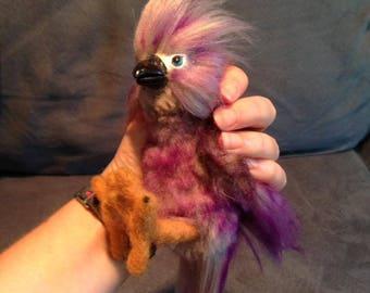 Baby Storm Bringer Bird Purple