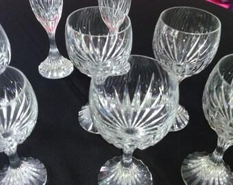 Baccarat Crystal glasses