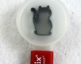 Sale Sizzix Paddle Punch Cat 38-0856, Used