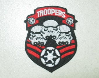 Free shipping STAR WARS STORMTROOPER Patch Badge c
