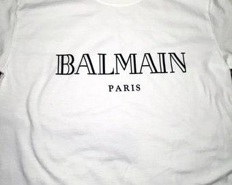 Balmain White T-Shirt