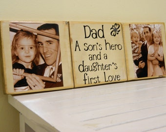 Father's Day gift dad sign unique dad gift Christmas gift for dad husband gift idea for dad birthday gif for dad first father's day love dad