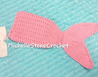 Newborn mermaid tail prop *ready to ship* CLEARANCE
