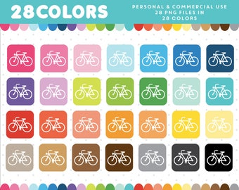 Bicycle graphics, Bicycle PNG, Bicycle icon, Bicycle vector, Bicycle clip art, Commercial clipart, Scrapbooking clipart, CL-924