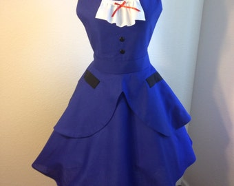 Mary Poppins costume apron dress