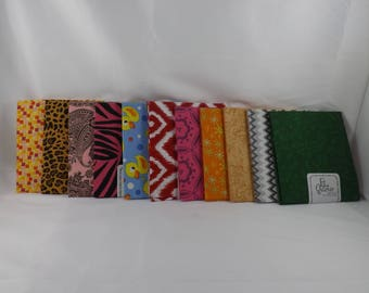"""Imported Fabric Fat Quarter 100% Cotton 18"""" x 21"""" - New"""