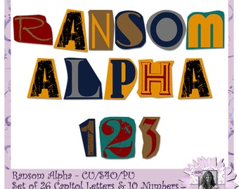 Magazine letters etsy ransom alphabet font text halloween creepy cut out letters magazine letters newspaper letters spiritdancerdesigns Image collections