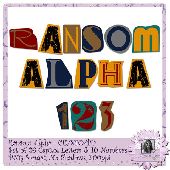 Ransom alphabet font text halloween creepy cut out ransom alphabet font text halloween creepy cut out letters magazine letters newspaper letters spiritdancerdesigns Images