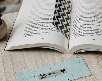 """Stay Positive"" bookmark"