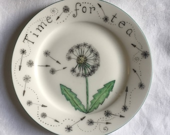 Time for tea plate