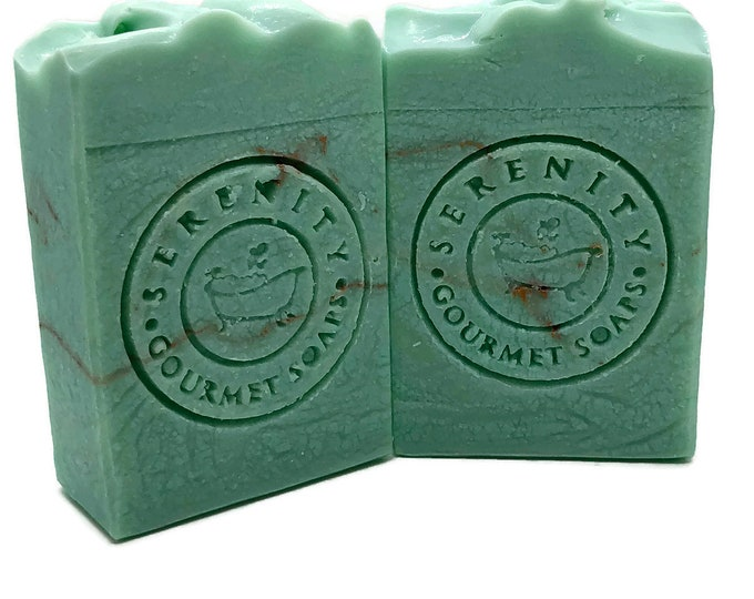 Turquois Vegan Handmade Bath Soap Bar