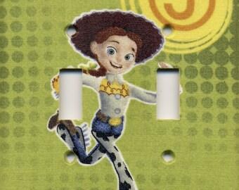 Jessie Toy Story Double Light Switch Plate