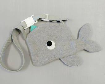Whale Purse. Handmade, Girl, Gift, Whale, Bag
