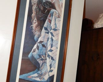 Very Rare Steve Hanks Leslie Levy Gallery Scottsdale Arizona Print With Out Frame