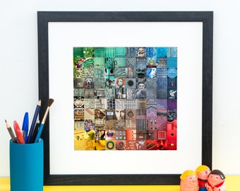 Liverpool Colour Print - Bright Wall Art - Liverpool Photography - Kate Cooper Photography
