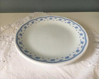 Morning Blue corelle Plates Dinner Plates Vintage Plates Vintage Corelle Corning Dinner & Melissa Corelle Plates Dinner Plates Vintage Plates