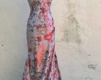 Gothic Dress - Mermaid Dress - Witch - Gothic Dress - Halloween Dress