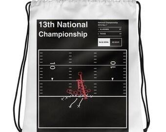 Alabama Football Drawstring Bag: 13th National Championship (2010)