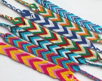 Handmade vowen bracelet, cotton bracelet, friendship boho bracelet