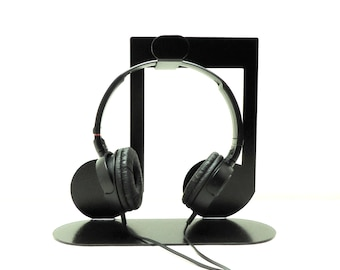 Eighth Note Headphone Stand