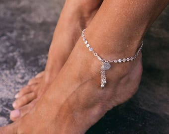 Cori - Silver, Gold or Rose Gold Anklet