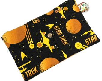 Spoonie Bag (STAR TREK) - portable self-care kit for grounding when overstimulated or triggered.